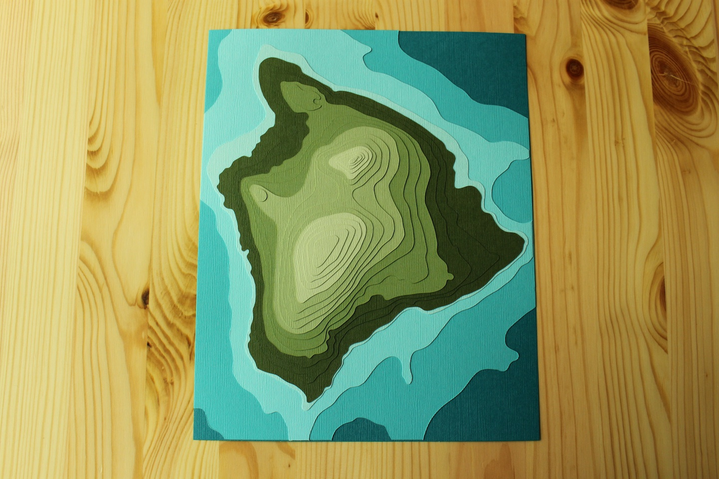FAQ: Can you make topographic pieces? | Crafterall
