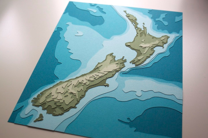 New Zealand Topography Crafterall
