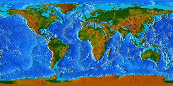 Conquering The World Crafterall - World topography
